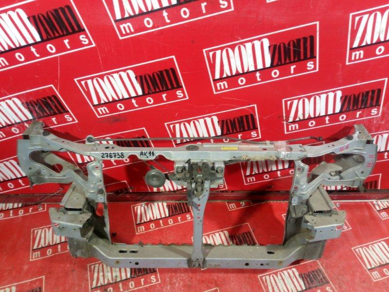 Рамка радиатора Nissan March K11 CG10DE 1995 передняя голубой