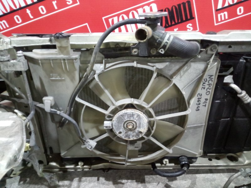 Радиатор двигателя Toyota Funcargo NCP20 2NZ-FE 1999