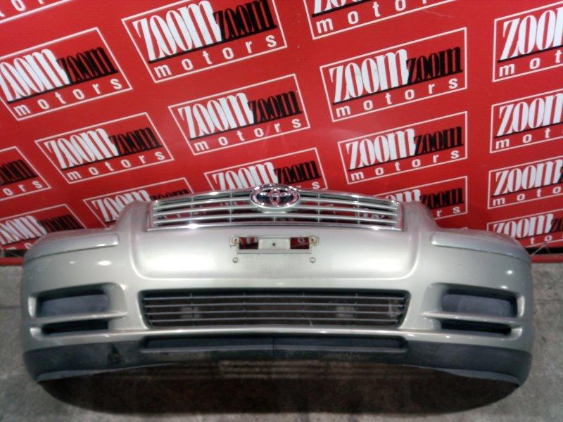 Бампер Toyota Avensis AZT250 1AZ-FSE 2003 передний серебро