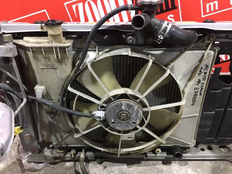 Радиатор двигателя Toyota Vitz Clavia NCP10 1NZ-FE 1999 передний
