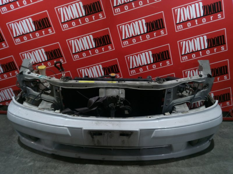 Бампер Nissan Cefiro WPA32 VQ25DE 1997 передний белый