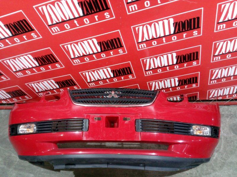 Бампер Mitsubishi Airtrek CU2W 4G63 2001 передний красный