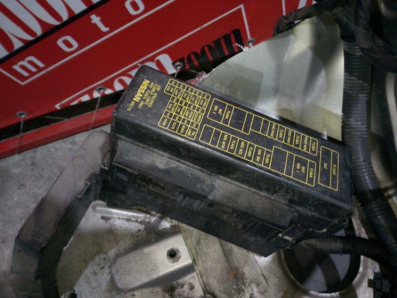 Блок реле и предохранителей Nissan Wingroad WFY11 QG15DE 2002