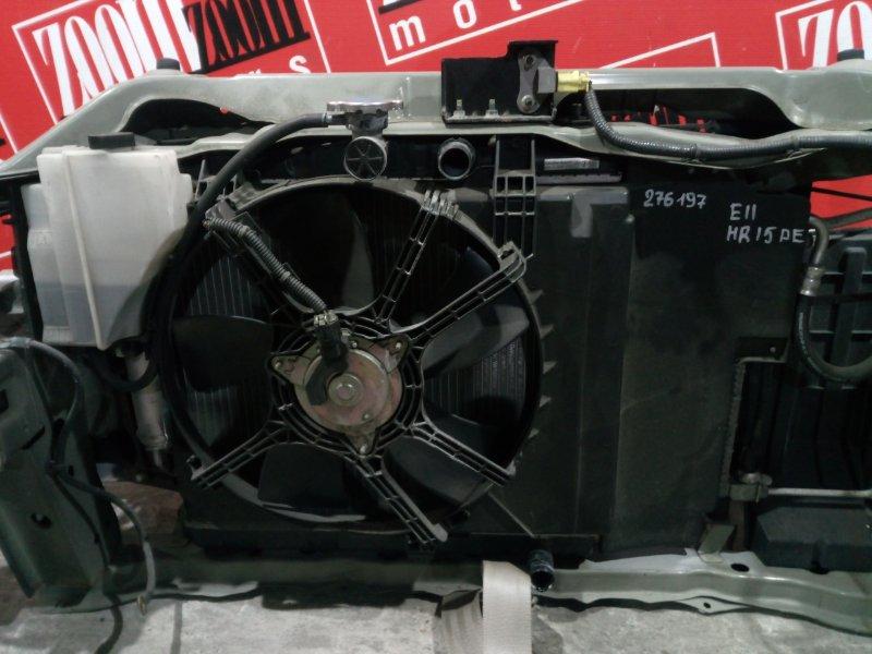 Радиатор двигателя Nissan Note E11 HR15DE 2008 передний