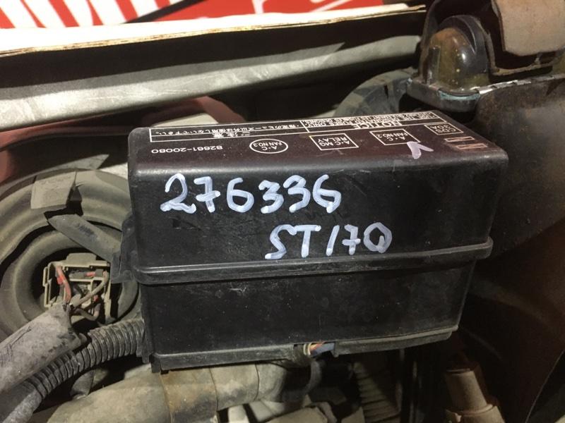 Блок реле и предохранителей Toyota Corona ST170 4S-FE 1987 передний