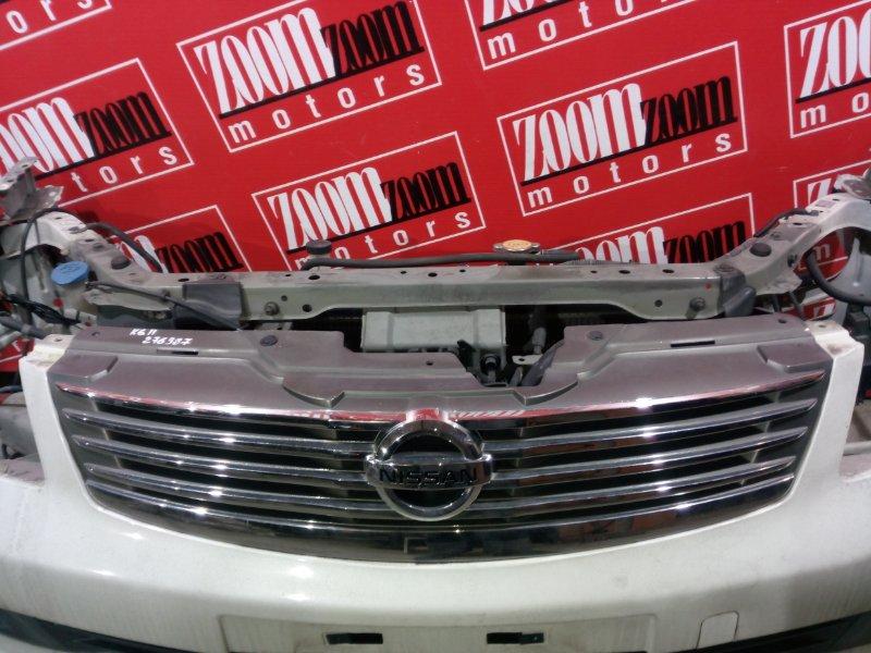 Решетка радиатора Nissan Bluebird Sylphy KG11 MR20DE 2005 передняя хром