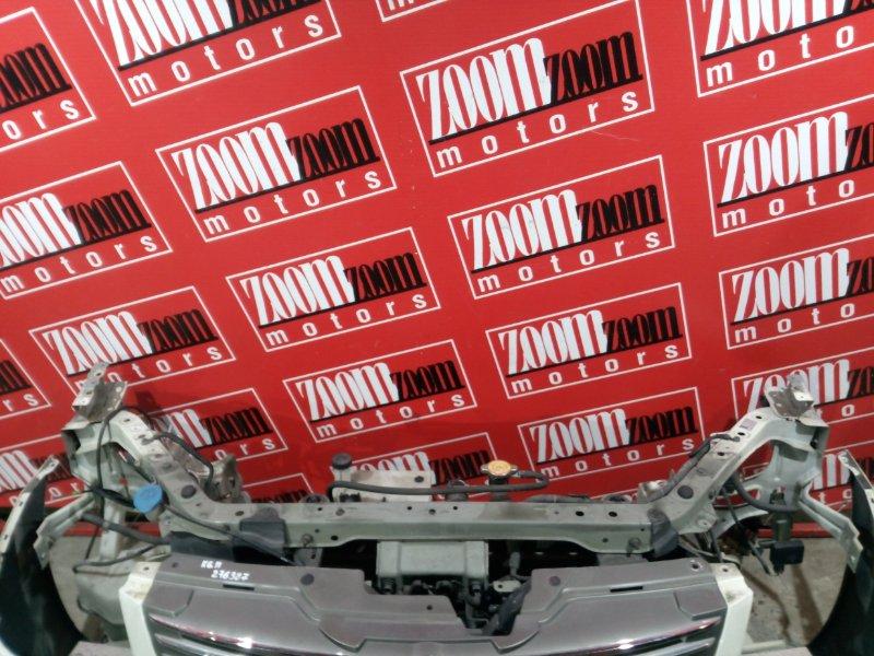 Рамка радиатора Nissan Bluebird Sylphy KG11 MR20DE 2005 передняя белый