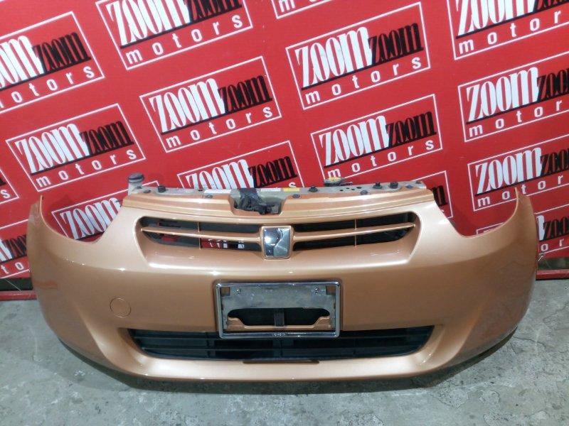 Бампер Toyota Passo KGC30 1KR-FE 2010 передний оранжевый