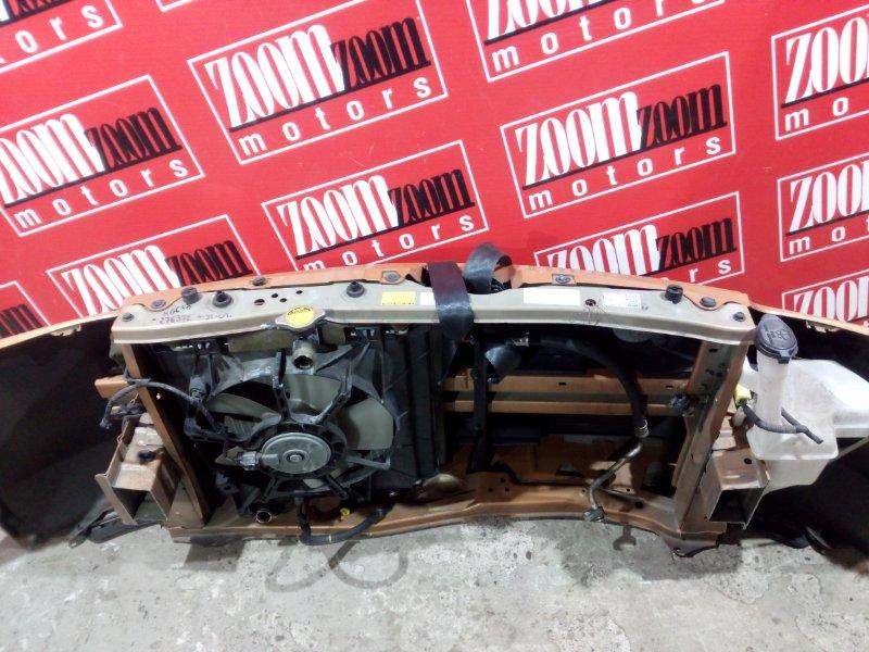 Рамка радиатора Toyota Passo KGC30 1KR-FE 2010 передняя оранжевый