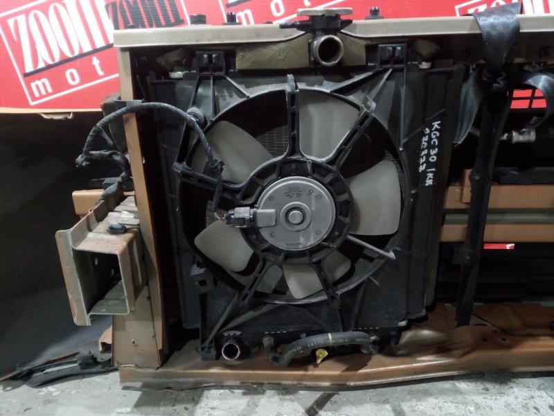 Радиатор двигателя Toyota Passo KGC30 1KR-FE 2010 передний