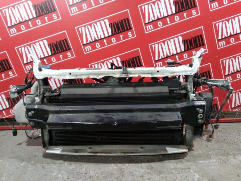 Рамка радиатора Honda Fit GD1 L13A 2005 передняя белый