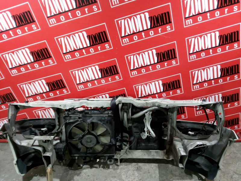 Рамка радиатора Suzuki Wagon R Solio MA34S M13A 2000 передняя белый