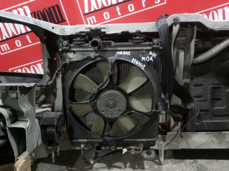 Радиатор двигателя Suzuki Wagon R Solio MA34S M13A 2000 передний