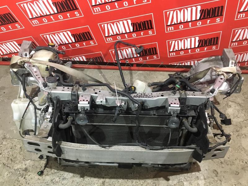 Рамка радиатора Toyota Prius ZVW30 2ZR-FXE 2009 передняя серебро