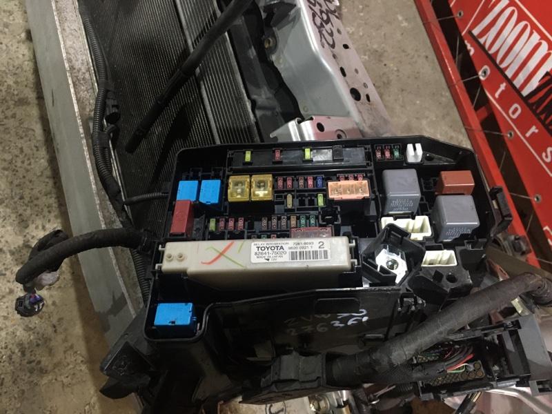 Блок реле и предохранителей Toyota Prius ZVW30 2ZR-FXE 2009 передний