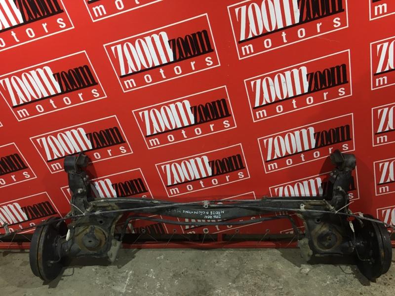 Балка поперечная Toyota Passo Sette M502E 3SZ-VE 2008 задняя