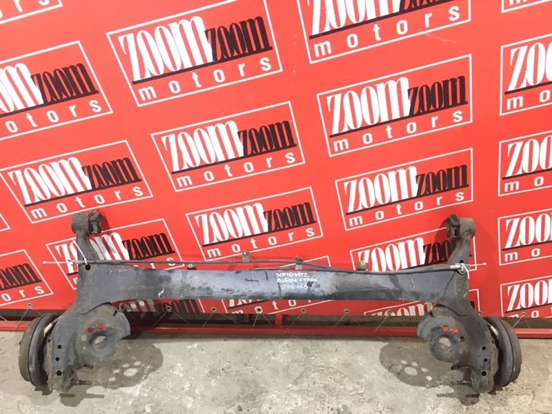 Балка поперечная Toyota Vitz SCP10 1SZ-FE 1999 задняя