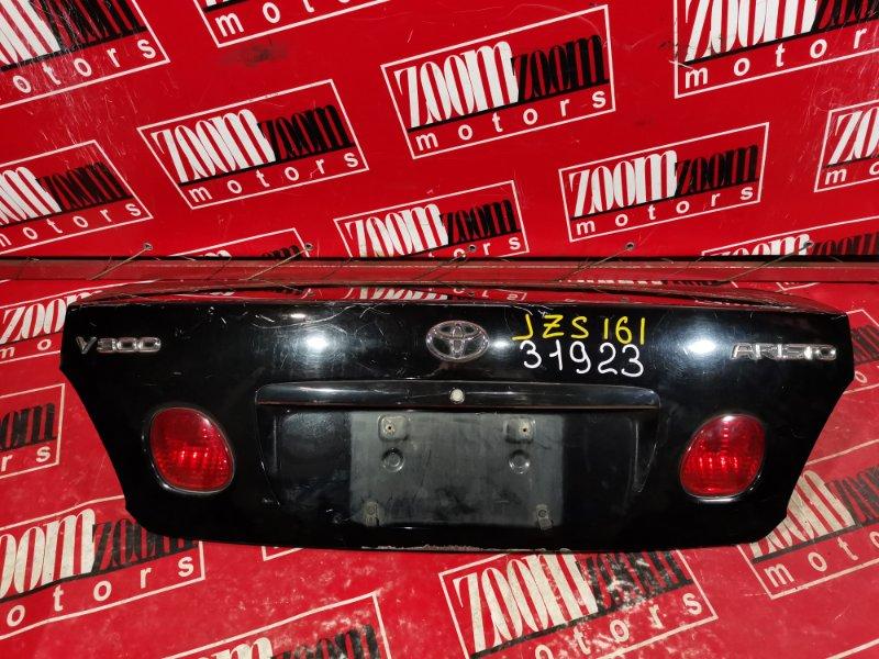 Крышка багажника Toyota Aristo JZS161 1997 задняя черный