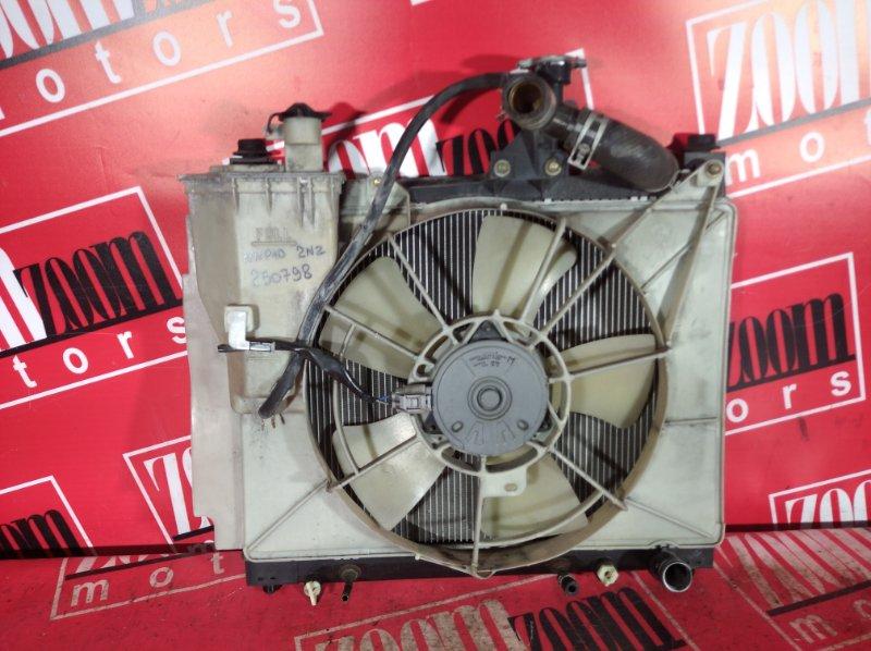 Радиатор двигателя Toyota Porte NNP10 2NZ-FE 2004 передний