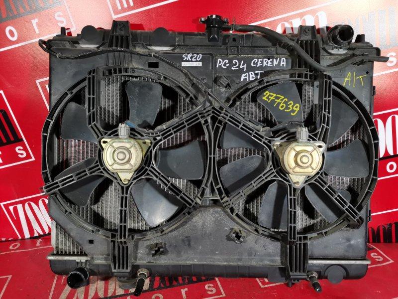 Радиатор двигателя Nissan Serena PC24 SR20DE 1999