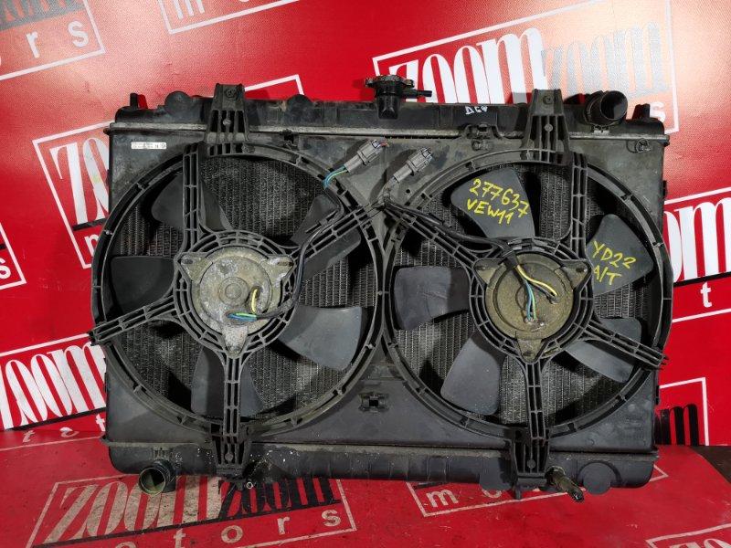 Радиатор двигателя Nissan Avenir VEW11 YD22DD 1998