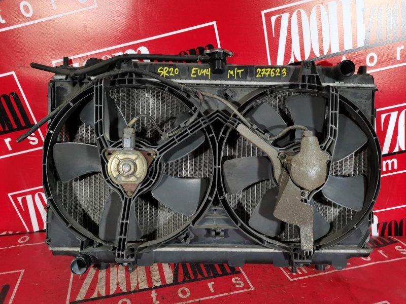 Радиатор двигателя Nissan Bluebird EU14 SR20DE 1998