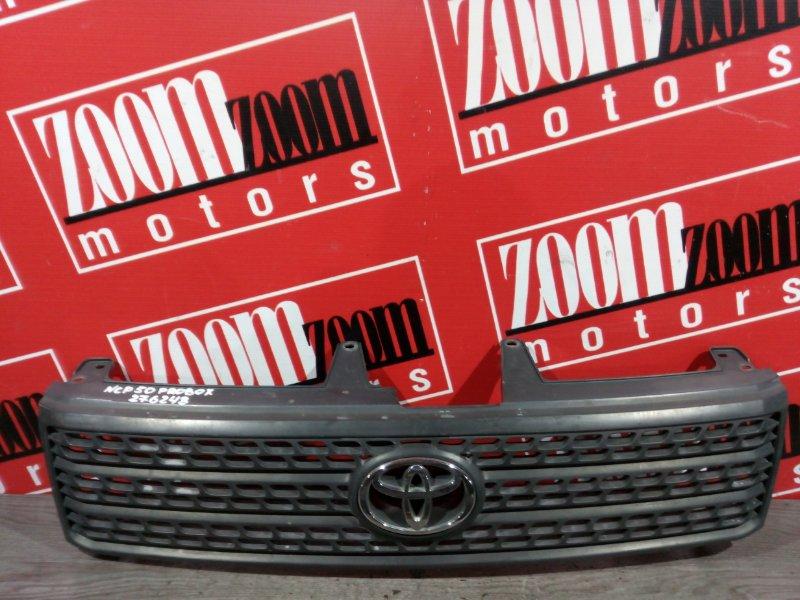 Решетка радиатора Toyota Probox NCP50 2NZ-FE 2002 передняя черный