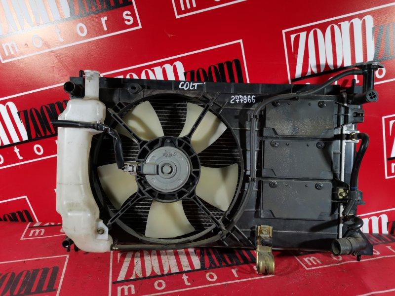 Радиатор двигателя Mitsubishi Colt Z25A 4A90 2002