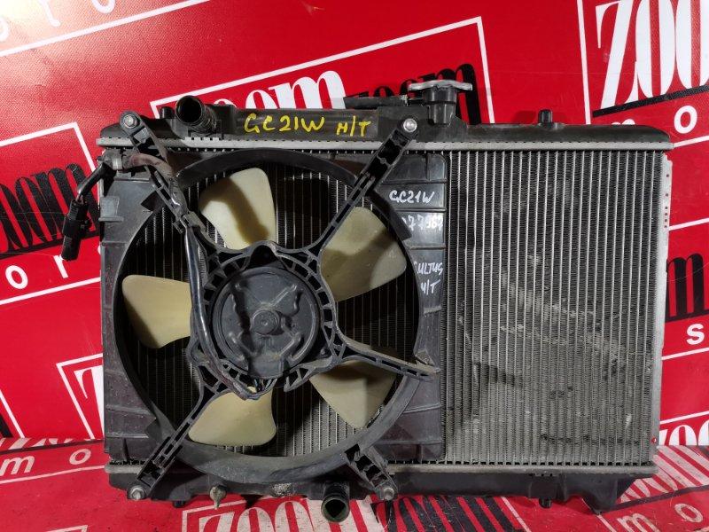 Радиатор двигателя Suzuki Cultus GC21W G15A 1999