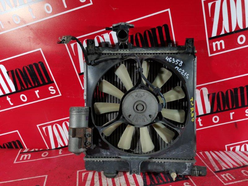 Радиатор двигателя Suzuki Wagon R MC21S K6A 1998
