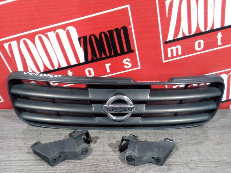 Решетка радиатора Nissan Expert VW11 QG18DE 1999 передняя черный