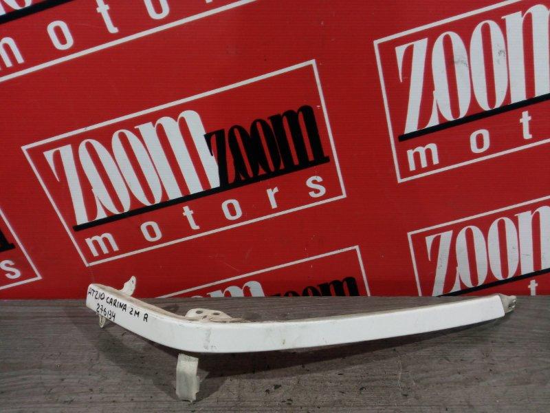 Планка под фару Toyota Carina AT210 7A-FE 1998 передняя правая белый