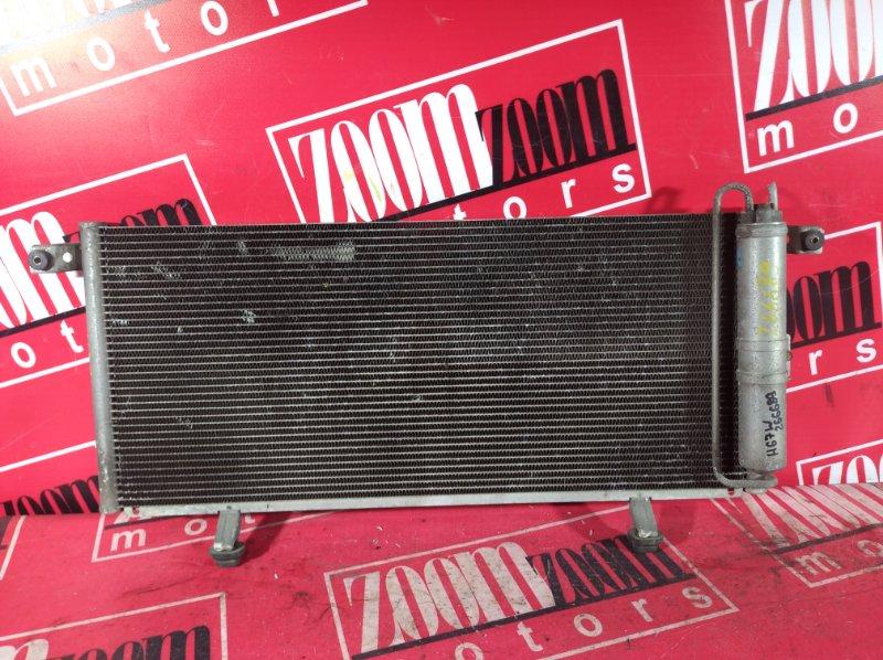 Радиатор кондиционера Mitsubishi Pajero Io H76W 4G94 2000 передний