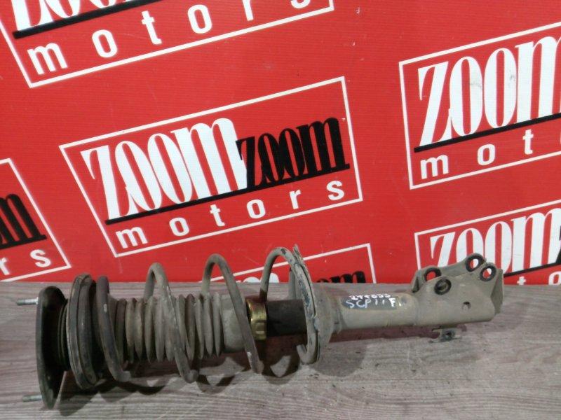 Стойка подвески Toyota Platz SCP11 1SZ-FE 2000 передняя