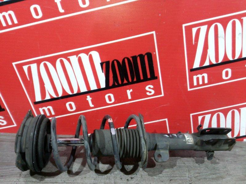 Стойка подвески Nissan March AK12 CR12DE 2002 передняя правая