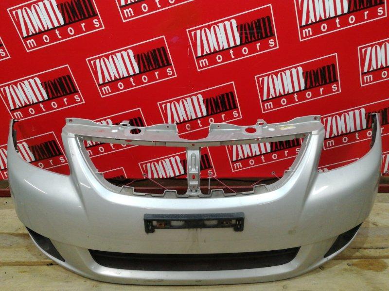 Бампер Suzuki Sx4 YC11S M15A 2007 передний серебро