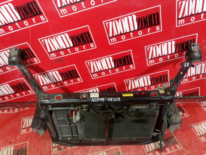 Рамка радиатора Toyota Will Vi NCP19 2000 передняя вишневый
