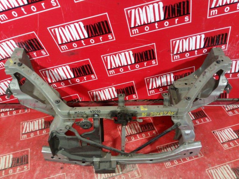 Рамка радиатора Daihatsu Yrv M201G 2000 передняя серебро
