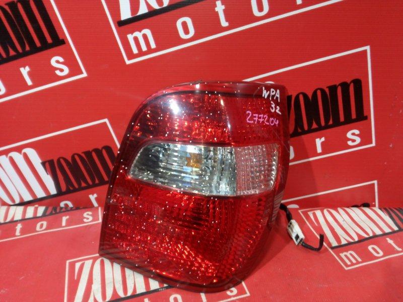 Фонарь (стоп-сигнал) Nissan Cefiro WPA32 VQ25DE 1997 задний правый 74-33