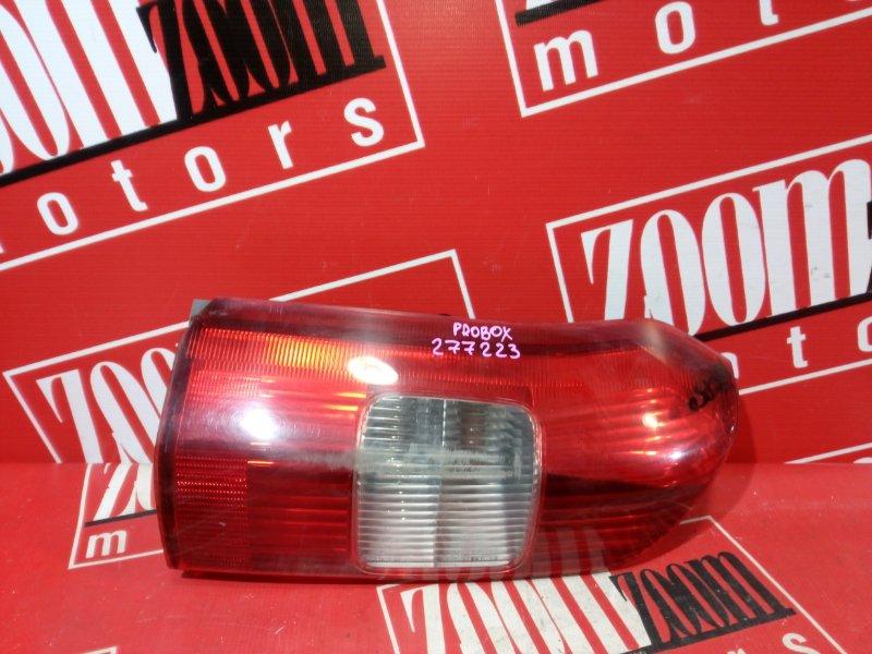 Фонарь (стоп-сигнал) Toyota Probox NCP50 2NZ-FE 2002 задний левый 52-078