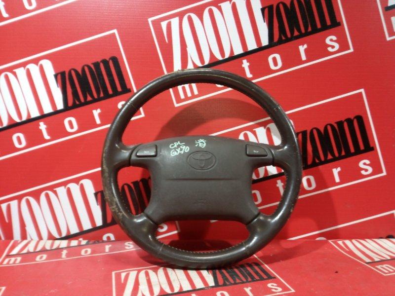 Руль Toyota Chaser GX90 1G-FE 1992 коричневый
