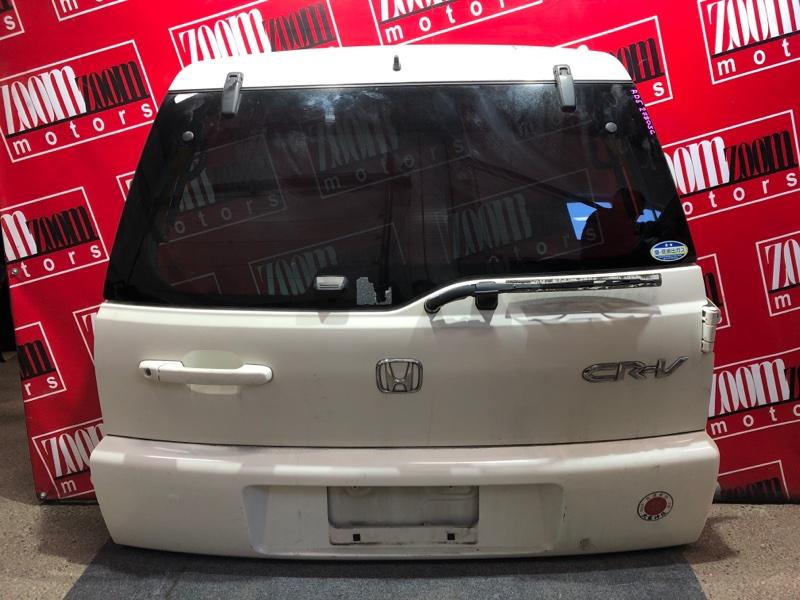 Дверь задняя багажника Honda Cr-V RD5 K20A 2001 белый перламутр