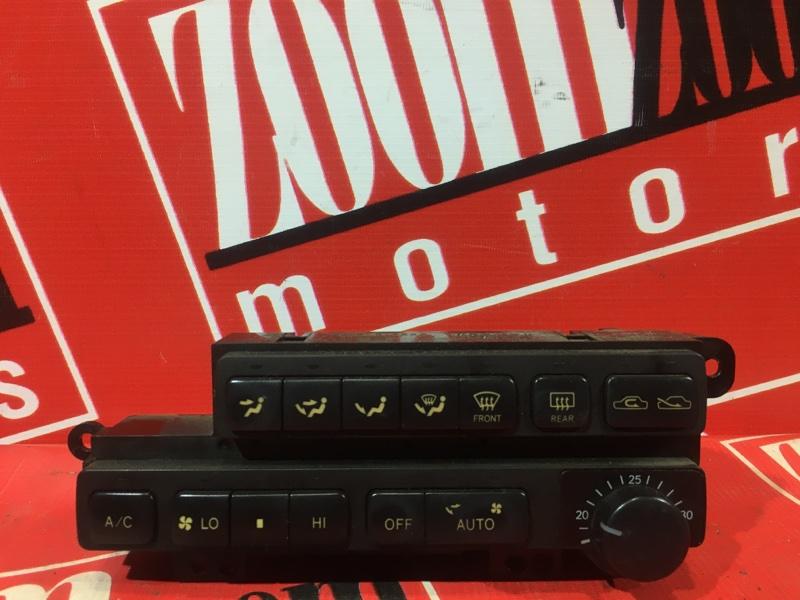 Блок управления отоплением и вентиляцией Toyota Chaser GX90 1G-FE 1992