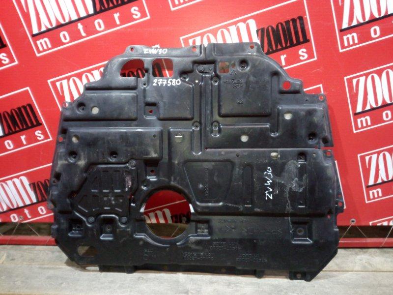 Защита двс Toyota Prius ZVW30 2ZR-FXE 2009 передняя нижняя
