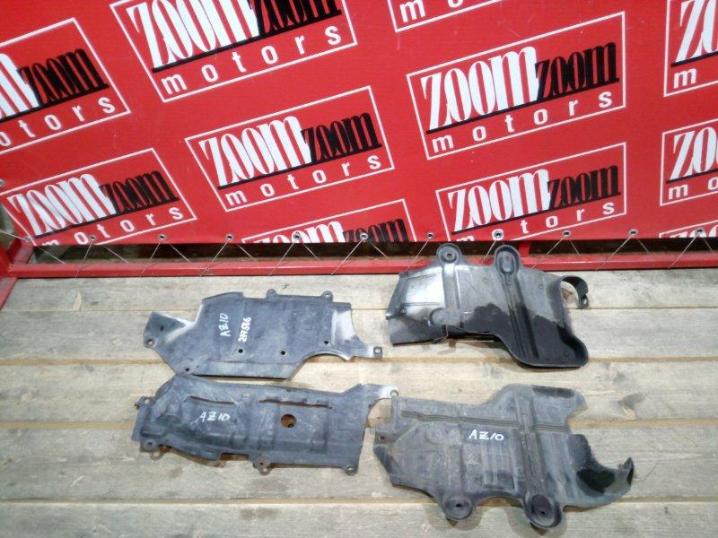 Защита двс Nissan Cube Z10 CG13DE 1998 передняя нижняя