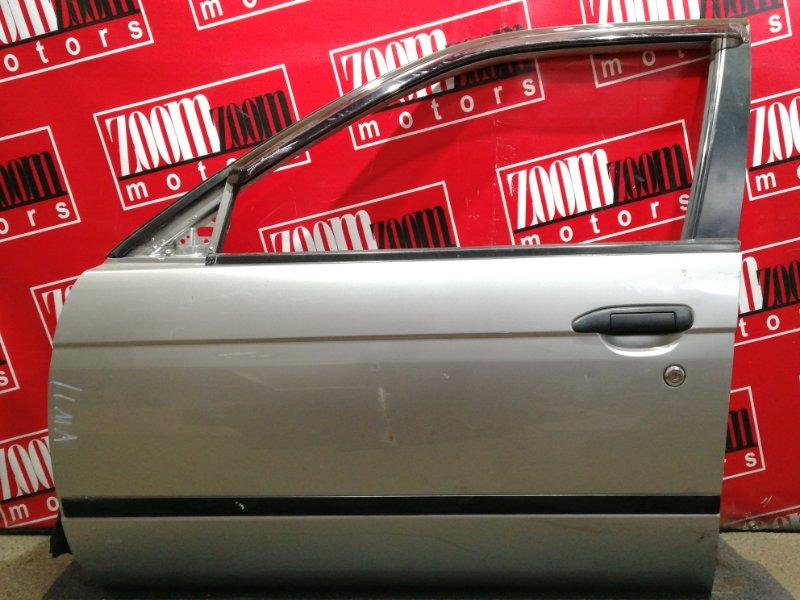 Дверь боковая Nissan Expert VW11 QG18DE 1999 передняя левая серый
