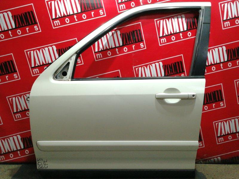 Дверь боковая Honda Cr-V RD5 K20A 2001 передняя левая белый перламутр