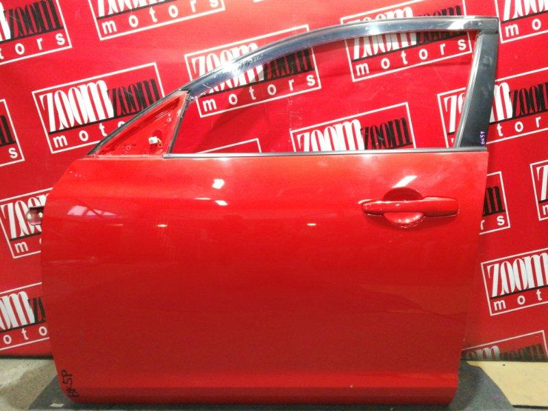 Дверь боковая Mazda Axela BK5P ZY-VE 2003 передняя левая красный