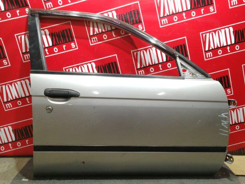 Дверь боковая Nissan Expert VW11 QG18DE 1999 передняя правая серый