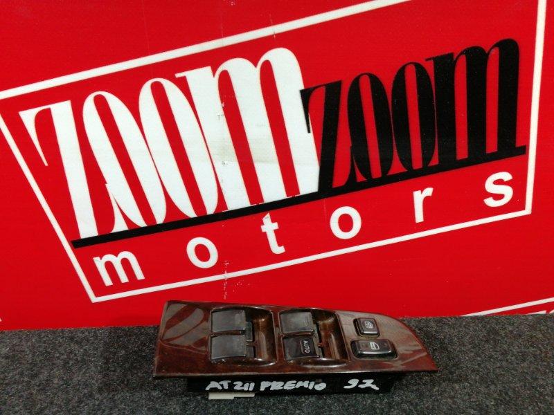 Блок управления стеклоподъемниками Toyota Corona Premio AT211 7A-FE 1996 правый